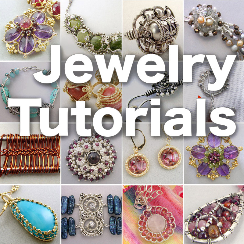 60% off! - 54 jewelry making tutorials, a $255.00 value. These are the same tutorials that have trained and shaped thousands of artists world-wide!