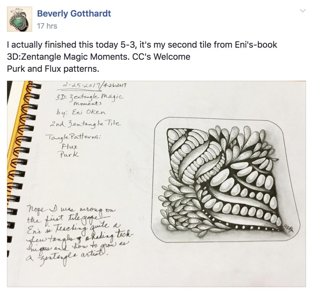 Learn Zentangle® 101 • enioken.com