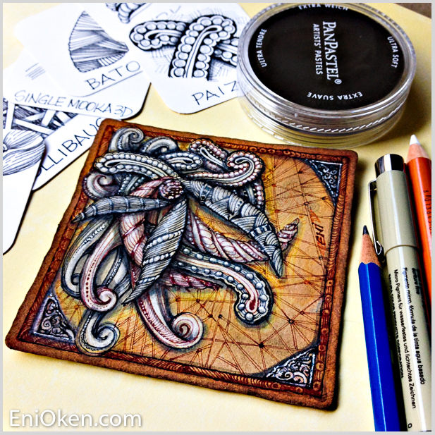 Learn to draw Zentangle® • enioken.com