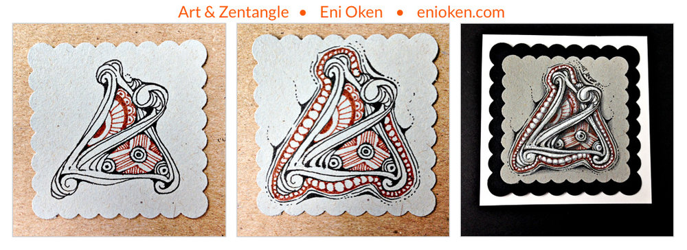 Learn how to create gorgeous Zentangle® • enioken.com
