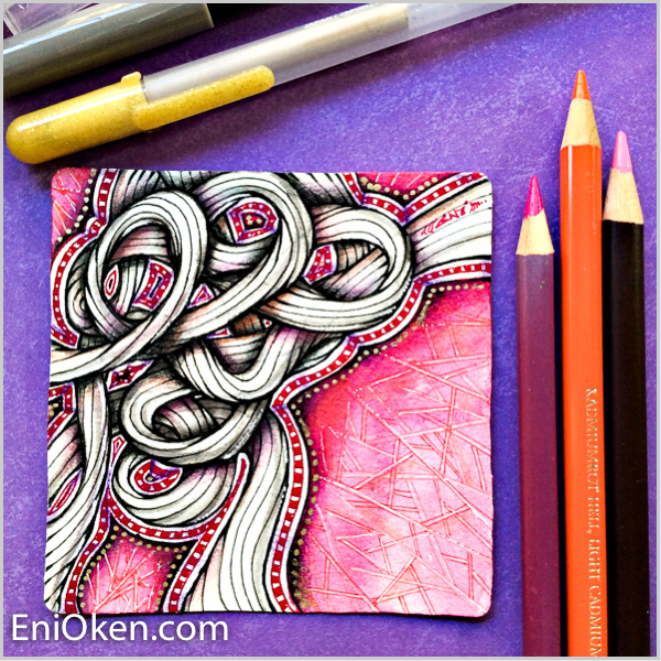 Learn how to create beautiful tangled twisted ropes • enioken.com