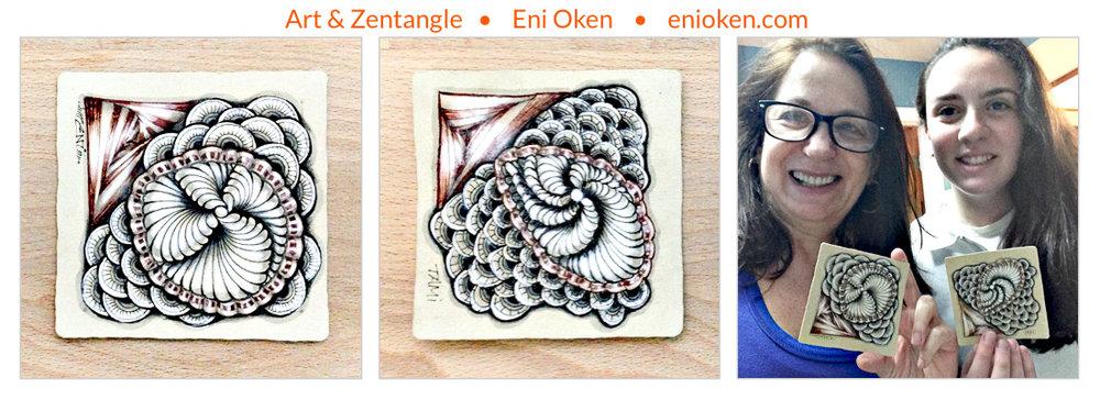 Learn how to create beautiful Zentangle® • enioken.com