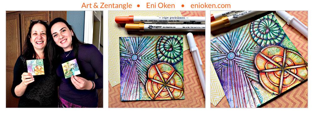 Learn how to create Zentangle® • enioken.com