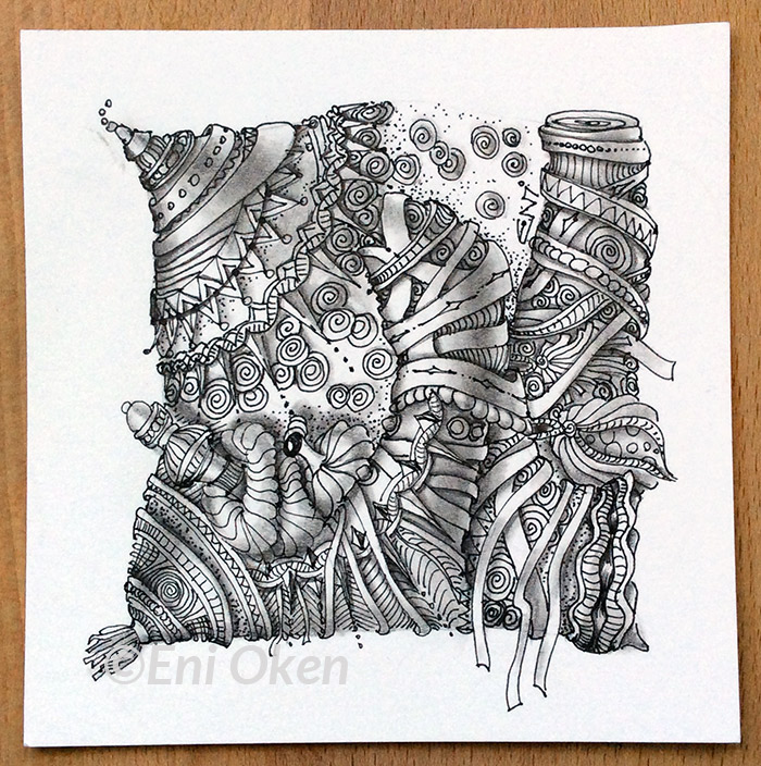 Learn Zentangle® at enioken.com