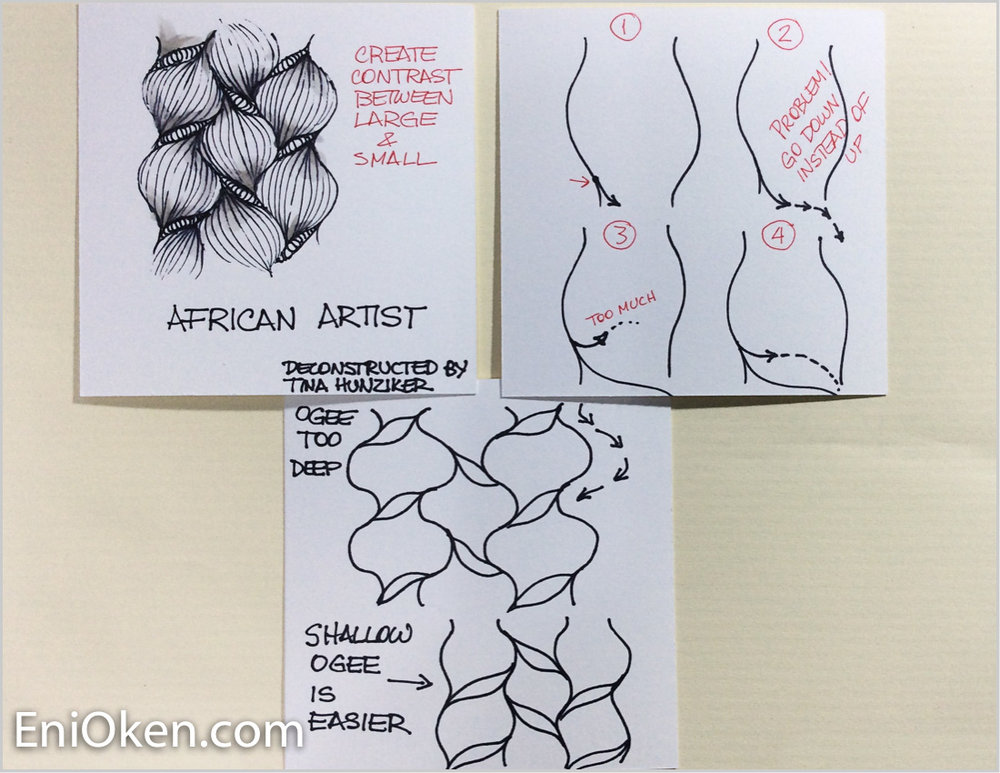 Learn to create Zentangle® • enioken.com