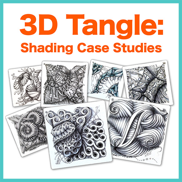 Shading Case Studies PDF Ebook - 15 Stunning Case Studies with detailed pictures of how they were shaded into deep 3D.Delivery via email linkLearn more about this lesson