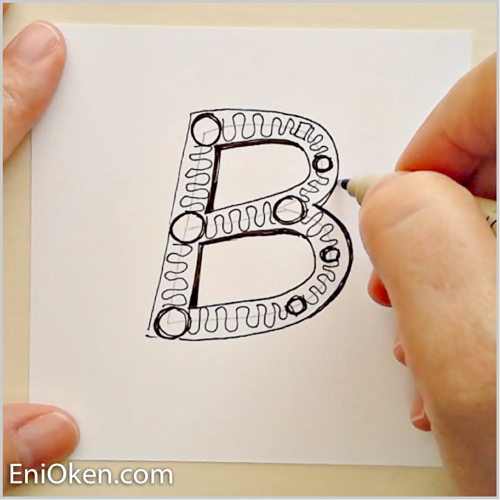 1) My Basic Method - • Understand and review the importance of keeping the initial legible• Review a clip from the Tangled Words video lesson• Overview of my unique method of creating Tangled Initials, using