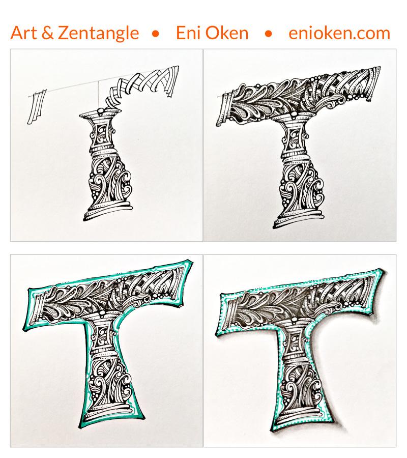 Drawing Zentangle® • enioken.com
