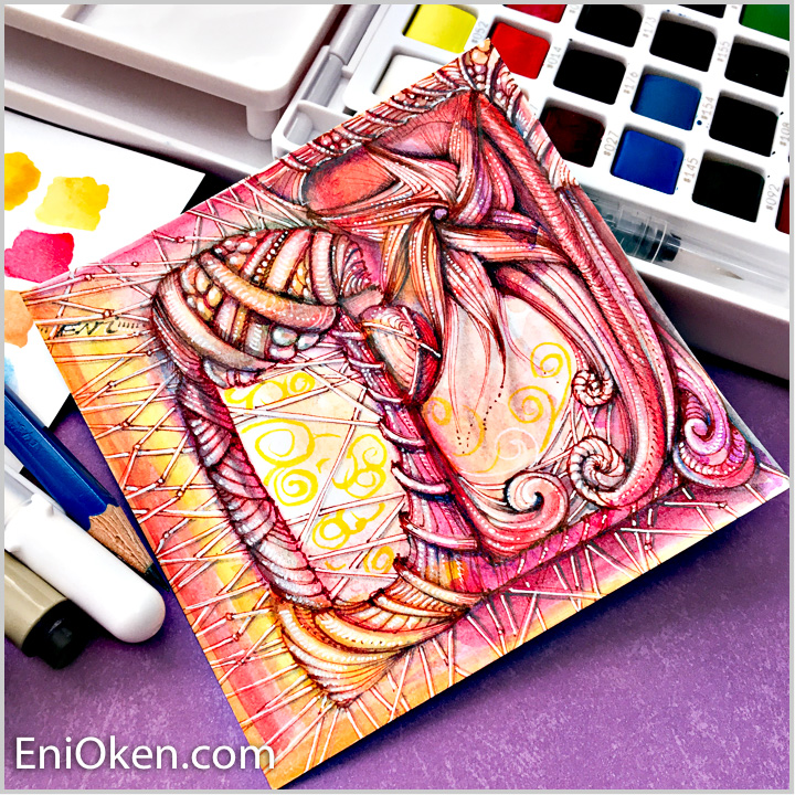 Drawing Zentangle® • enioken.com