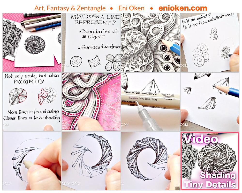 Learn how to create beautiful Radial Zendalas • enioken.com