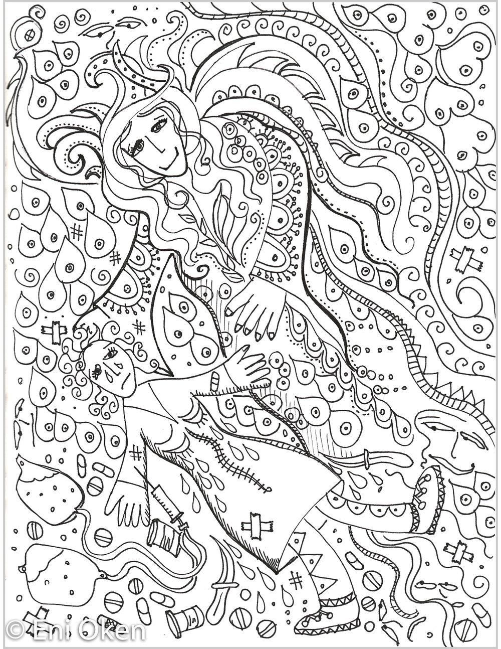 Reconstruct fairy, BW • enioken.com