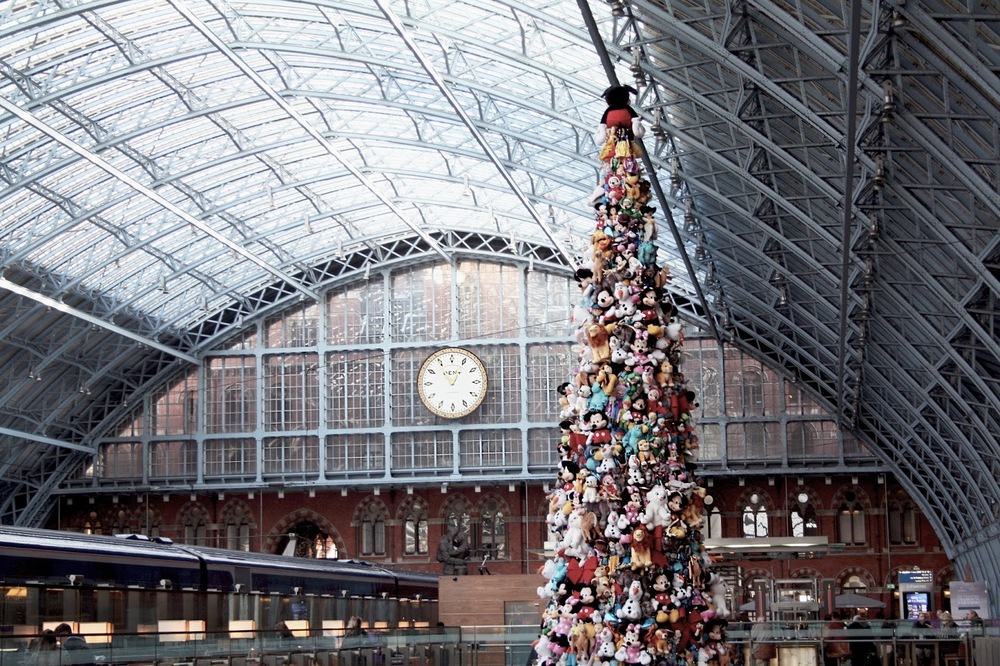 St. Pancras Disney Tree London