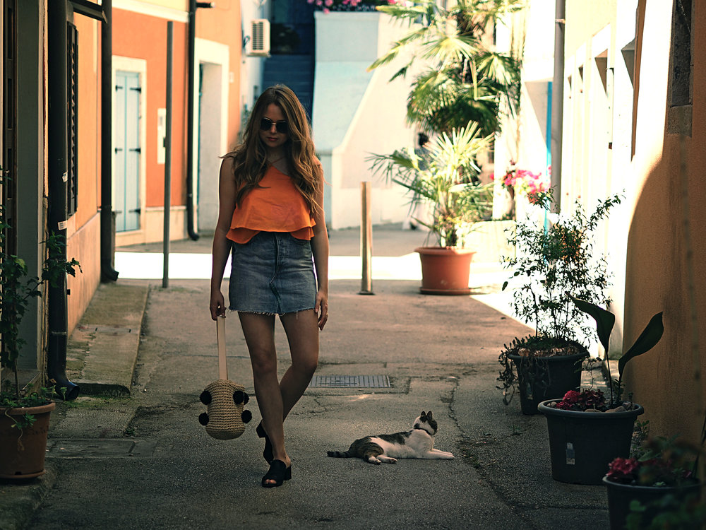 Mango_Orange_Top_Denim_Skirt.jpg