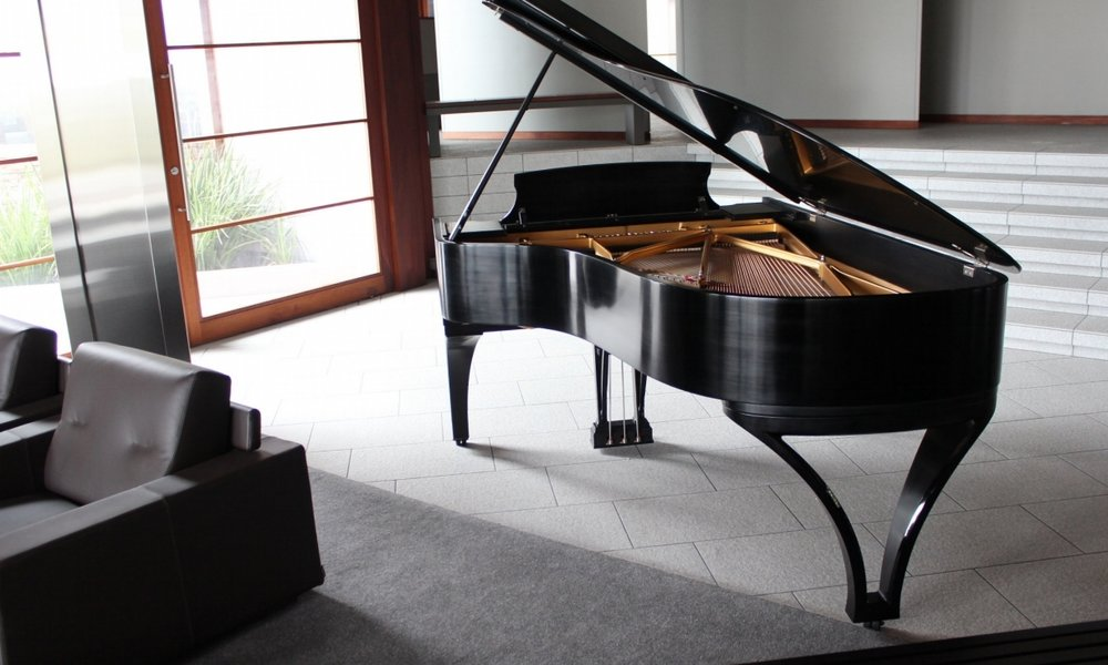 Custom Piano design by J Elliott & Co