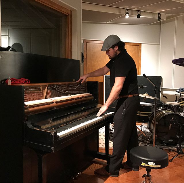 Great recording studio @lalamansionstudio in Tampa with a bespoke vintage studio upright piano we had the pleasure of supplying. Good people to work with! #recordingstudio #piano #vintage #lalamansion #jelliottco