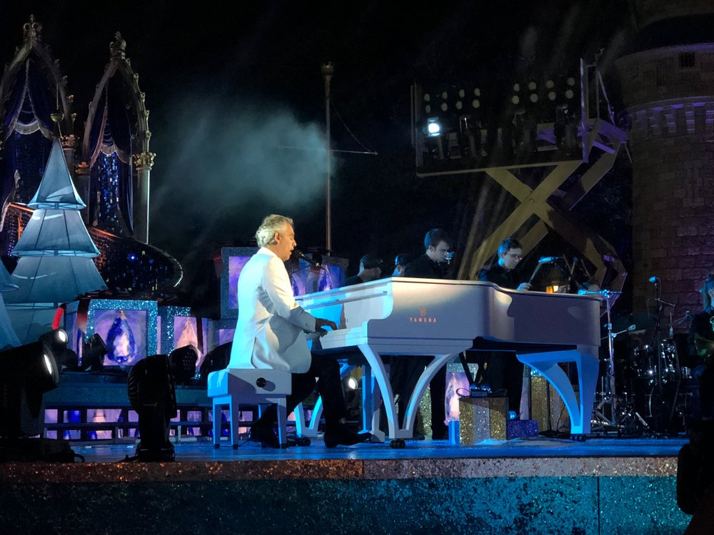 J Elliott & Co. custom piano design played by Andrea Bocelli