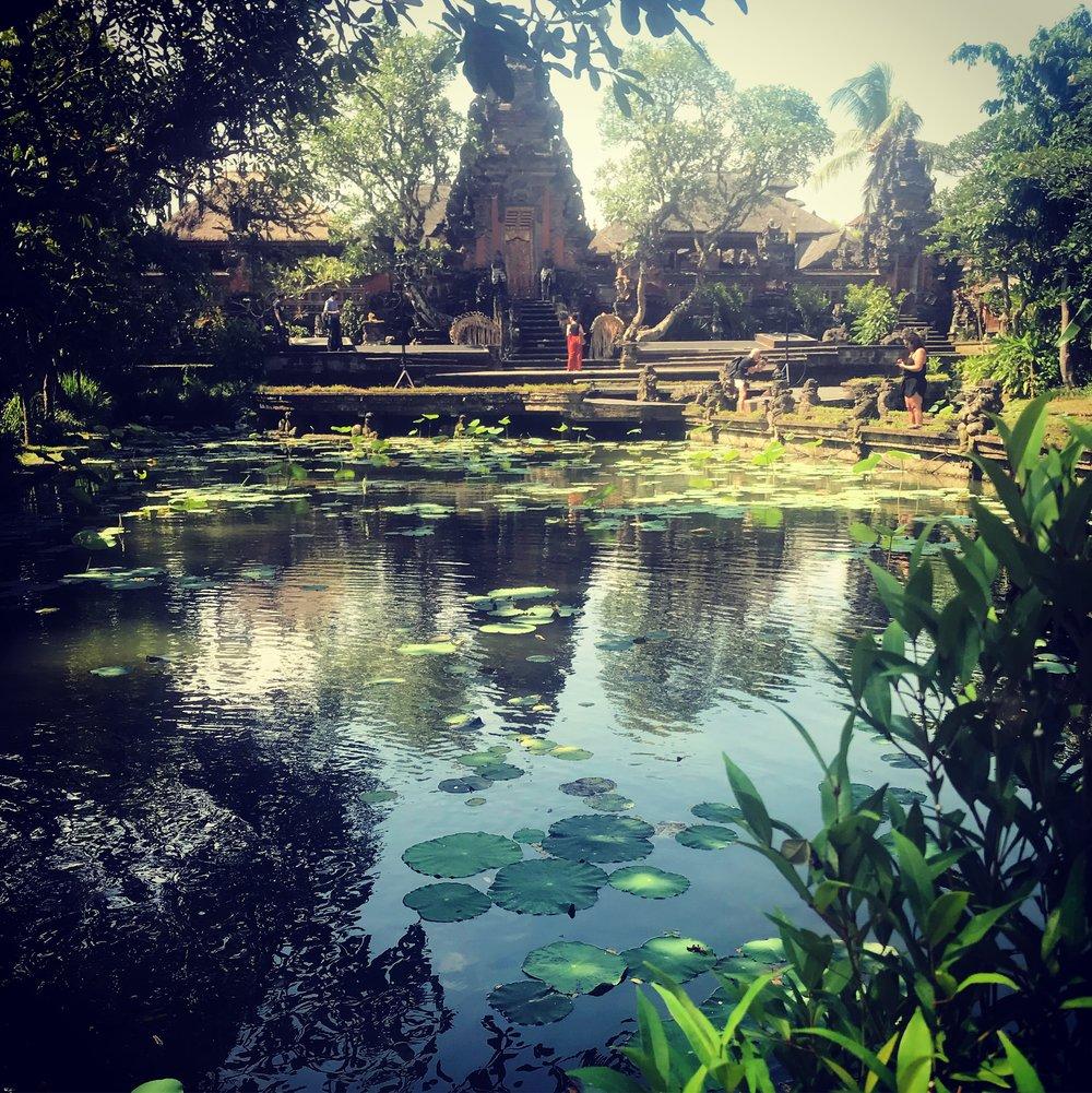 Sarasvati Water Temple, Ubud, Gianyar, Bali