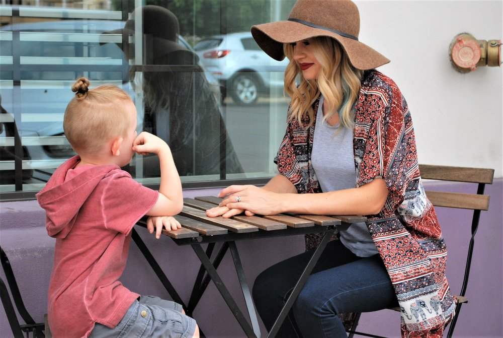 How One Mom Juggles Two Kids and a Stylish Wardrobe - Style Shop Denver - Victoria Shipman