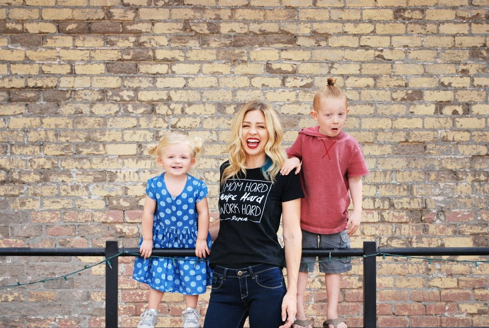 How One Mom Juggles Two Kids and a Stylish Wardrobe - The Style Shop by Sandi Mele - Victoria Shipman