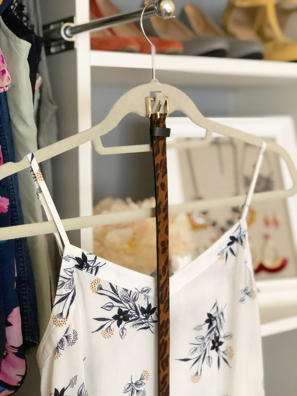Velvet Hangers - The Style Shop by Sandi Mele - How to Organize Your Closet Accessories
