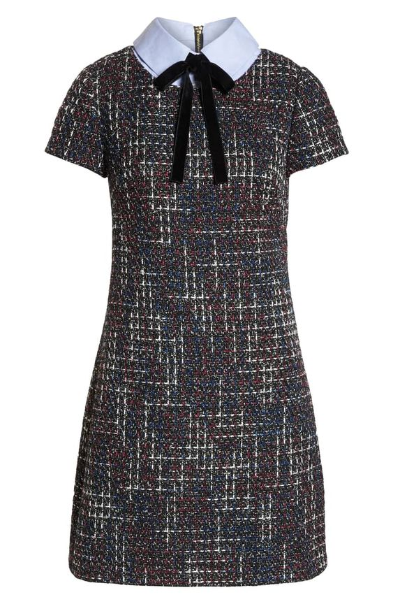 1901 Tweed Shift Dress by Nordstrom