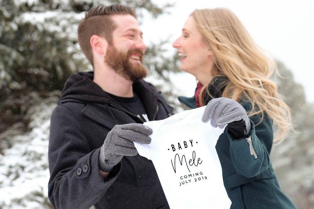 Mele Pregnancy Announcement - The Style Shop by Sandi Mele