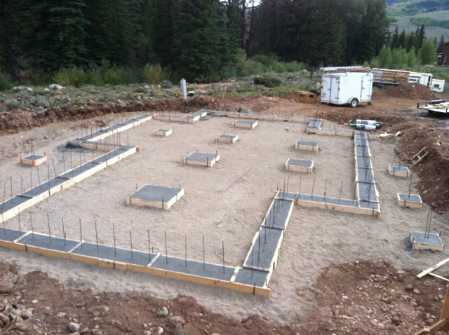 overview, excavation, utilities, concrete, framing — Sleightholm ...