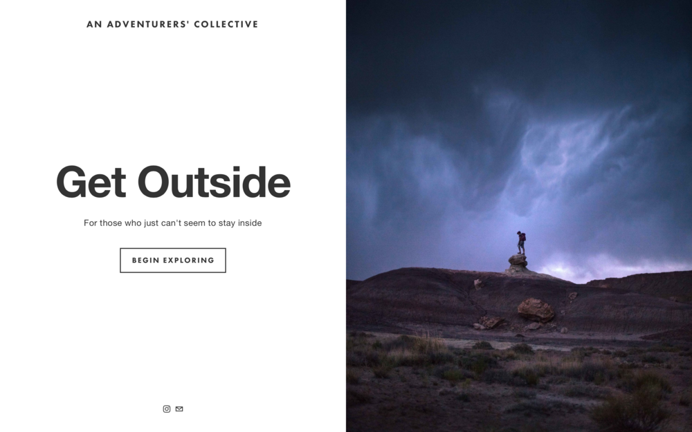 Get Outside Homepage