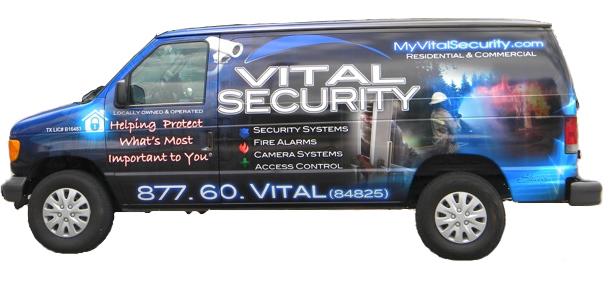 vital-security-installation-van