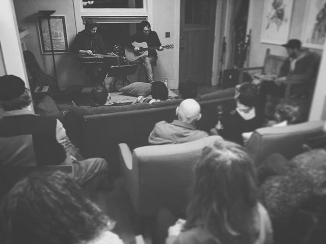 Friday night was awesome! @calebdare and @chshaw1 killed it. #jamaliehhaley killed it. We're excited to host many-a-more house show. If you're interested or have any questions about future Songs & Stories shows, email Kenya; she'd love to tell you all about it: kenya@idcpdx.com.