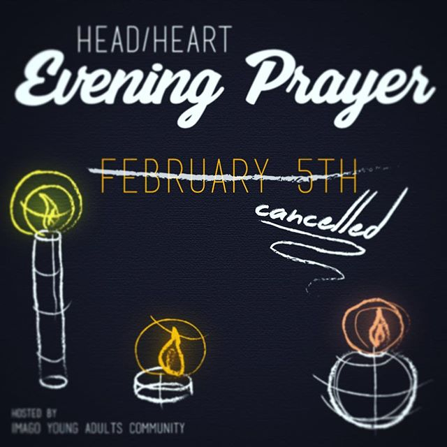 Soooooooo. . . .we accidentally scheduled Head/Heart, which is all about encountering God in the midst of our shared culture and community, at the same time that Western Civilization celebrates one of our biggest shared cultural phenomenons (i.e., the Super Bowl). Whoops.  All that to say, there will be no Head/Heart this Sunday night.  We will be back in action for the next Head/Heart on Sunday, March 5.  Concerning this Sunday, we would like to encourage you to celebrate this shared culture with your friends and family.  Go Sports!
