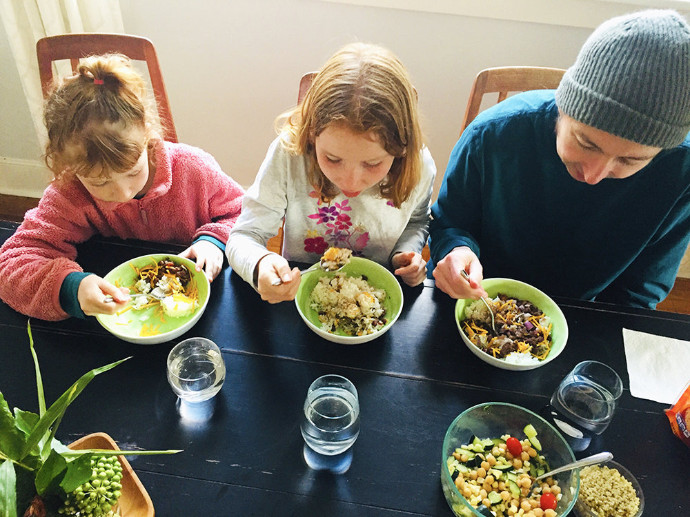 We've been doing Beans and Rice for a few years now: eating just beans and rice for dinner and taking the money we save on groceries to Lahash, which helps kids in East Africa get access to sustainable food programs. Every year looks a little different, but each one involves some amount of sacrificing what we love to eat and gathering around our table in solidarity with our brothers and sisters in East Africa. It reveals to me how much food impacts my soul. My heart is so quick to grumble over eating simply for the sake of nourishment, rather than for pleasure. It just gets boring, but in the midst of that, I have more space for relationships. Instead of spending an hour making dinner, I can play with my kids or chat with my neighbors. Jesus is generous to use something SO SIMPLE as dinner to allow me to grow in humility, relationship, and justice. - Rachel Wilson