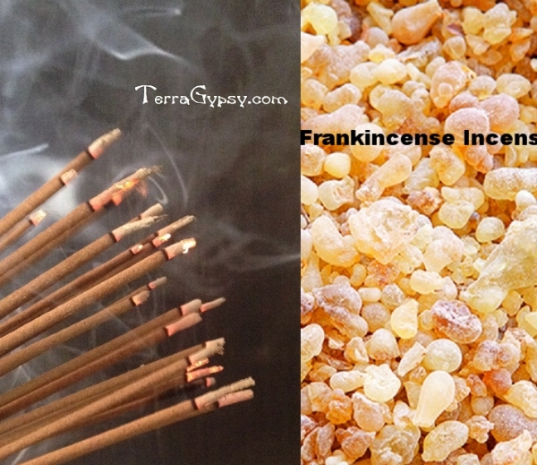 Frankincense Incense available at  TerraGypsy.com  and in store.