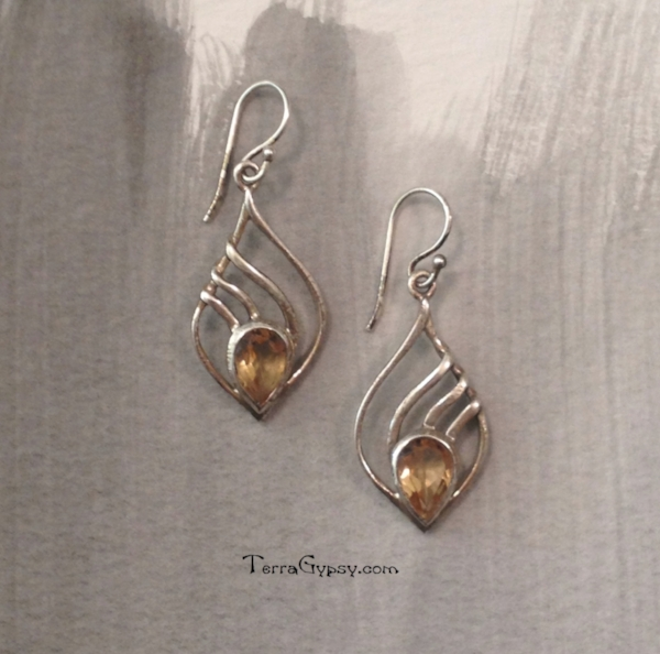 Citrine is an excellent Solar Plexus (3rd) chakra stone. Check out our sterling silver citrine earrings in on our website.