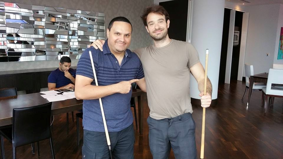 Actor Charlie Cox, Marvel's Daredevil