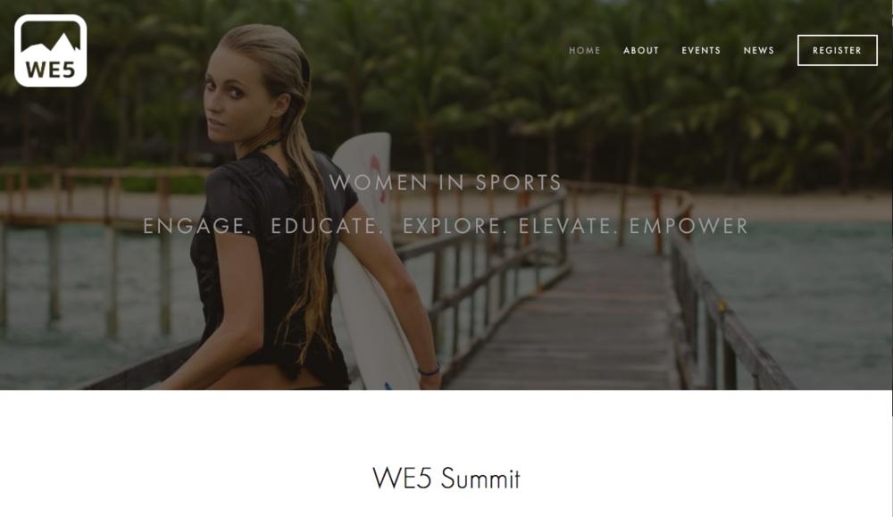 WE5 Foundation & Summit -  NonProfit/Events