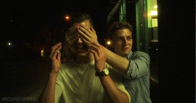 No peeking. #8days #boundseries