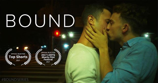 Bound is an official selection in the 2017 LGBTQ shorts festival. Voting for audience favorite is open now through 6/27. Show your #pride by voting at https://theaudienceawards.com/films/bound-155415