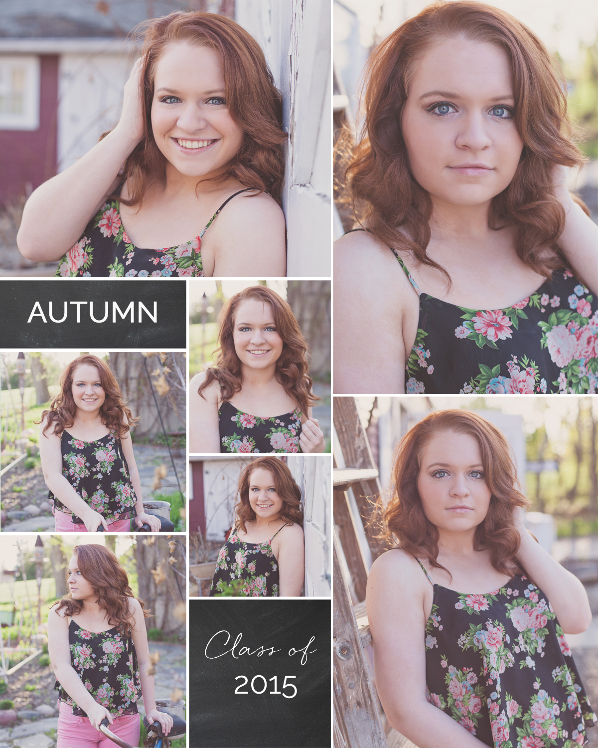 Franklin High School Livonia Senior Portraits Autumn Metro Detroit.