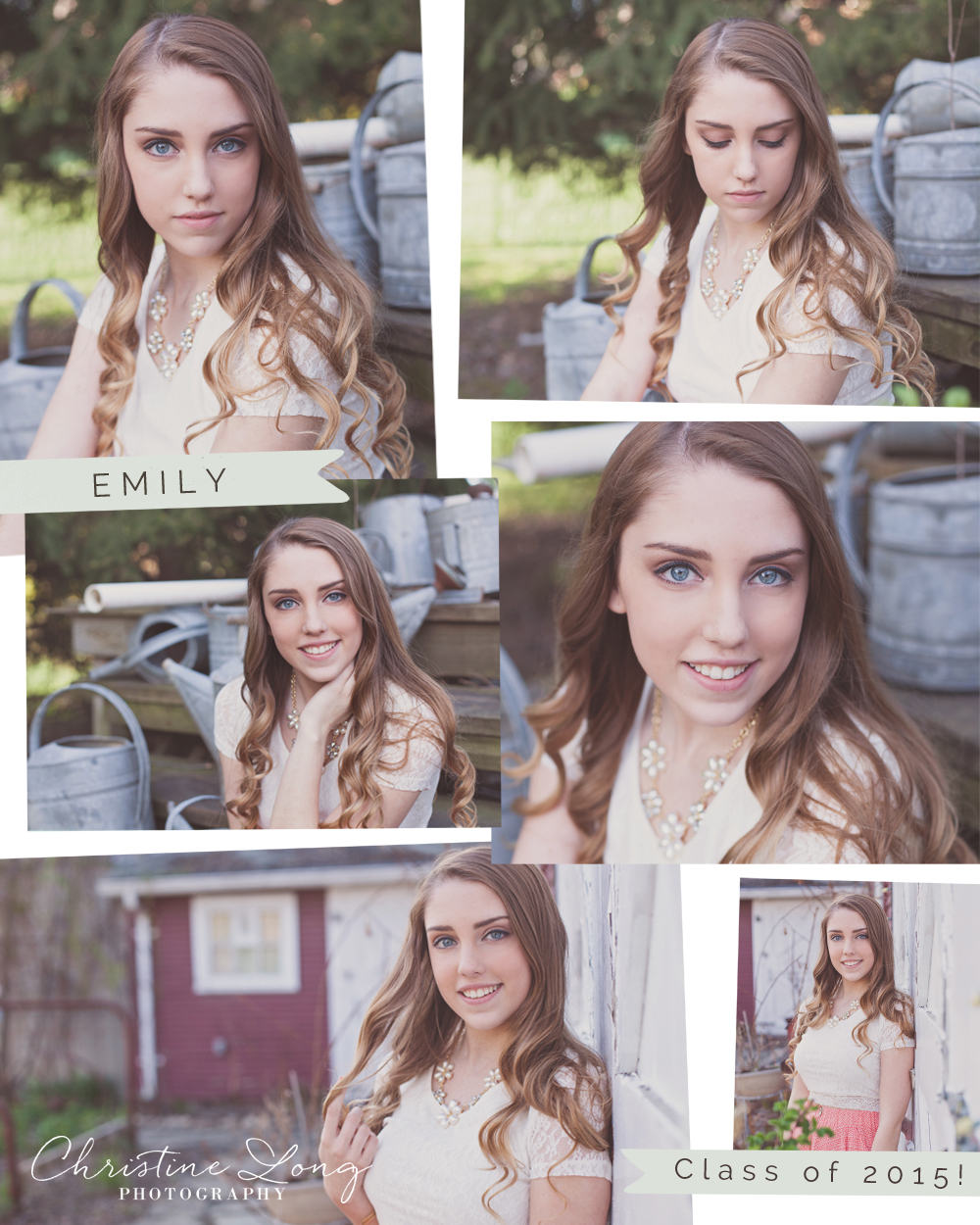 Franklin High School Livonia Senior Portraits Emily