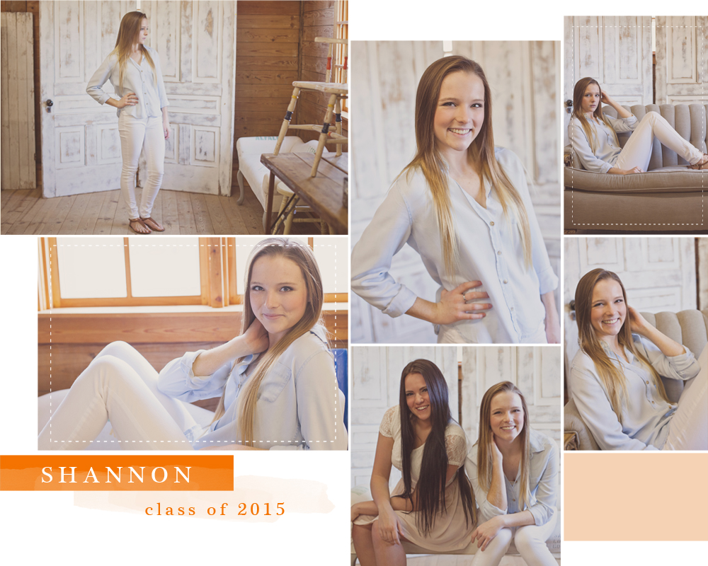 Lakeland High School Senior portraits Shannon