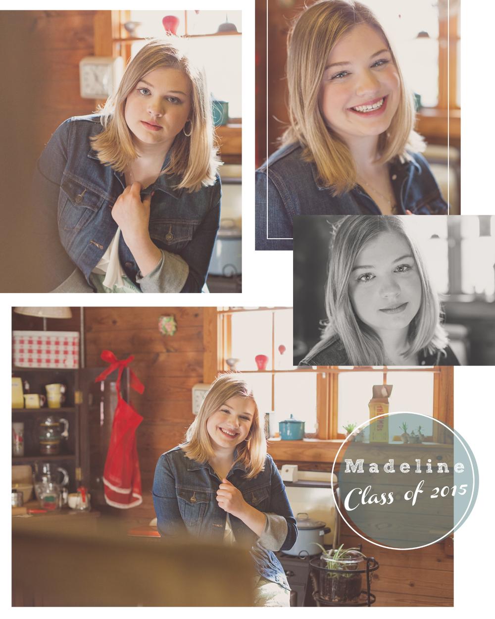Northville High School Senior portraits_Madeline