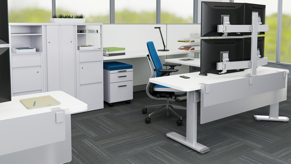 Steelcase - Series 7 (Height-Adjust.)
