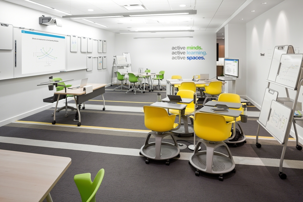 Rethinking Classroom Design ~ Active learning spaces — machabee office environments