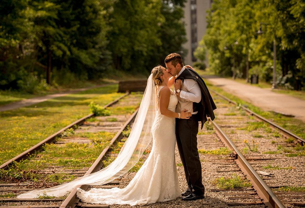 guelph bride pronovias modern bride speed river wedding