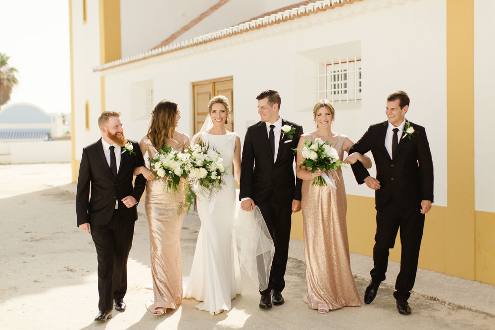bridal party pronovias portugal
