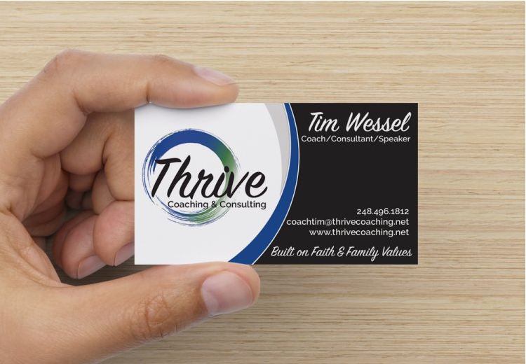 Business Cards - Thrive Coaching & Consulting