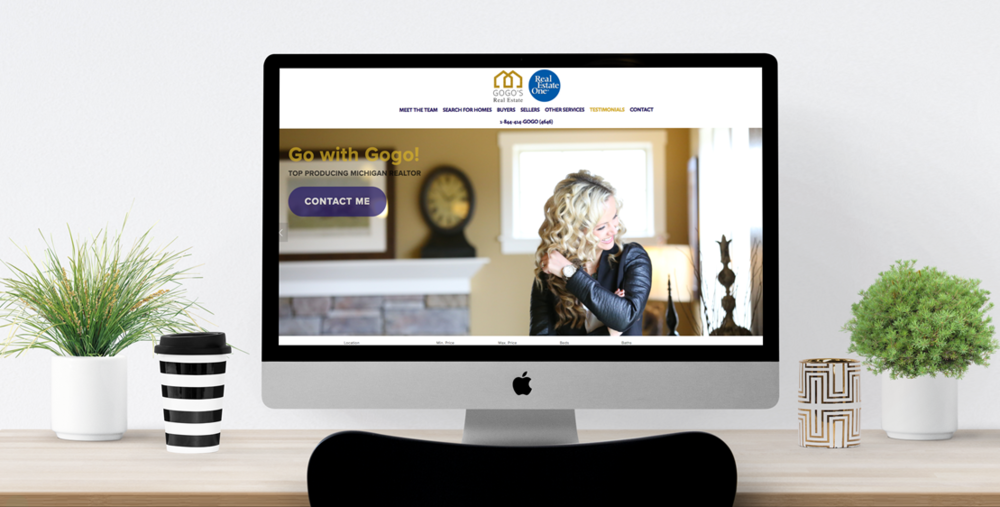 Website Design & Content Creation -  www.gogosrealestate.com