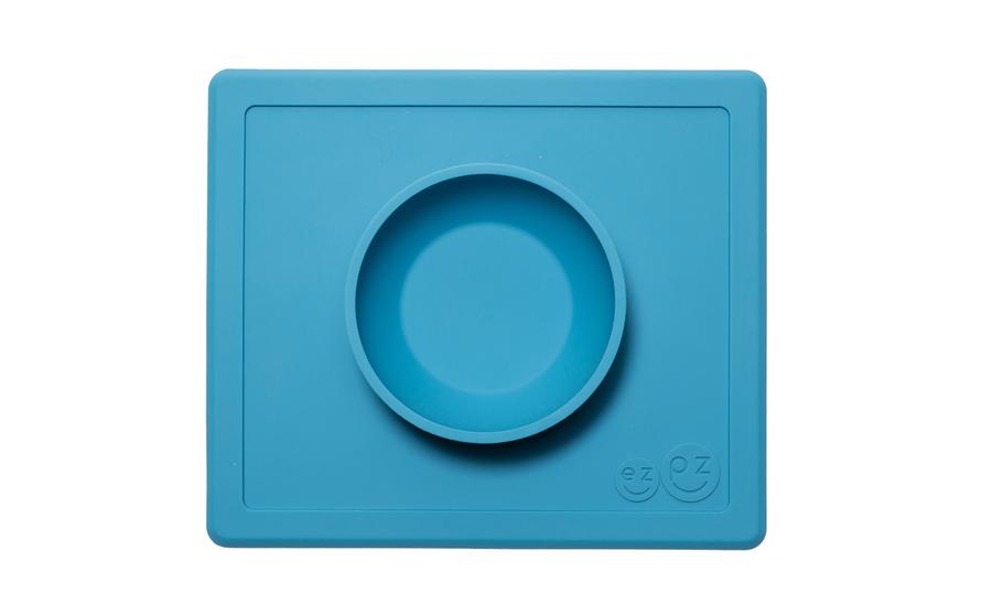 Happy Bowlin ulkomitat ovat 22 cm x 26 cm. Kulhon tilavuus on n. 2,5 dl. Kuva: EzPz.com