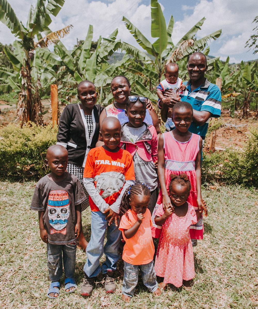 Bosco + Nancy + Family // Uganda Country Directors